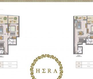1 Bedroom - 760 sq.ft